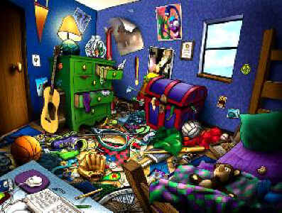 why a messy bedroom might do lasting harm c2 education