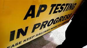ap testing in progress