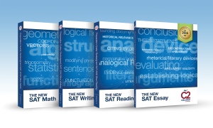 For a limited time, students who enroll in C2's new SAT prep program will receive a full suite of new SAT books for free!