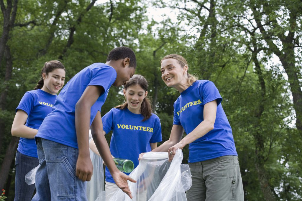Volunteering is great for enriching your community. As a student you also earn extra benefits.